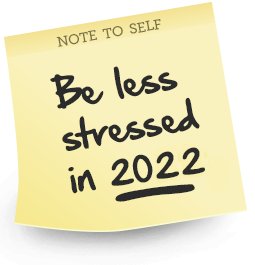 FAQ. Feel Less Stressed